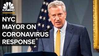 WATCH LIVE: NYC Mayor Bill de Blasio speaks on coronavirus pandemic as cases surge - 4/1/2020