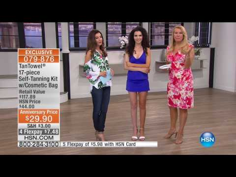 HSN | TanTowel Beauty Anniversary / Temptu Airbrush Makeup 04.25.2017 - 06 AM
