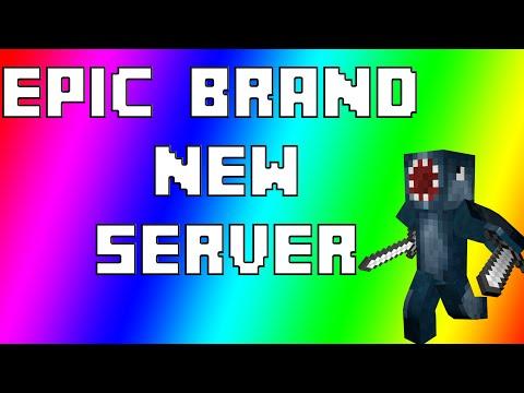 Minecraft - BRAND NEW SERVER! *EPIC* (2015)