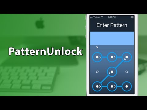[Cydia Tweak] PatternUnlock - Android Style Lock Screen For iOS