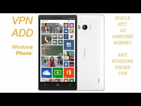 How to setup vpn in windows phone 8.1 Unlimited Bandwidth Vpn free