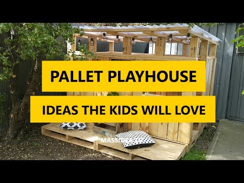 50 Awesome Pallet Playhouse DIY Ideas the Kids Will Love 2017
