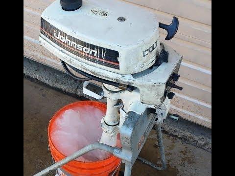 Johnson / Evinrude Colt; Waterpump, Carb, and Starter Repair