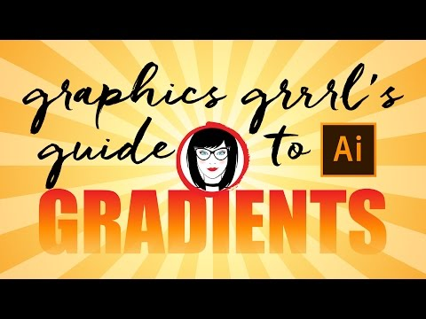 The ULTIMATE GUIDE to creating, saving and applying gradients in ILLUSTRATOR CC!