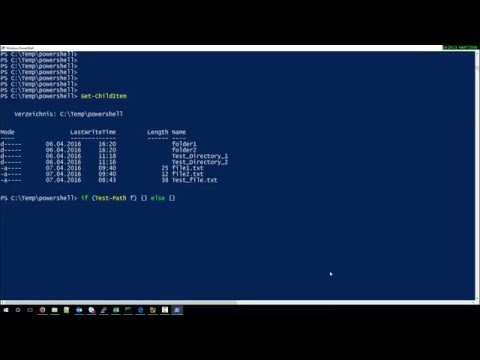How to check if Directory exists in Powershell