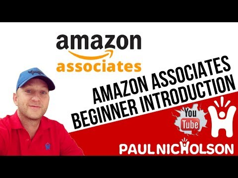 Amazon Associates Introduction - How To Link To Amazon Products And Get Paid Affiliate Commission