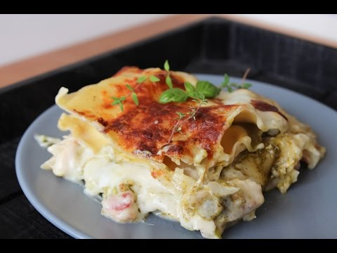 How To Make White Chicken Lasagna - By One Kitchen Episode 266