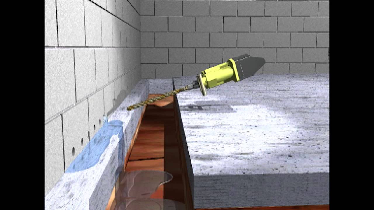 Basement Waterproofing - The Solution Animation