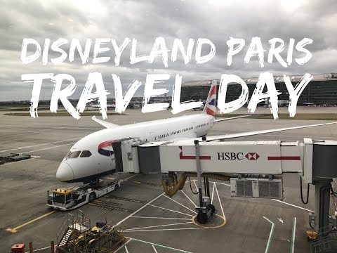 Disneyland Paris Vlog - March 2017 - Part 1 - Travel Day