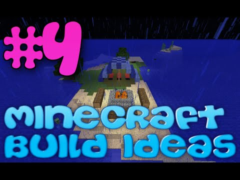Minecraft Build Ideas | #4 Campsite