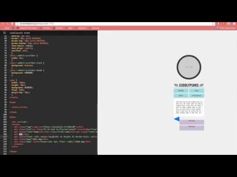 Speed Coding - Tumblr Sidebar