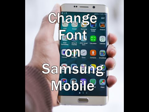 How to Change Font on Samsung Galaxy Star Pro Phone