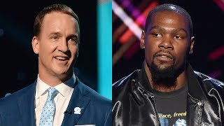 Kevin Durant Responds to Peyton Manning Roast and Wins Best Championship Performance | 2017 ESPYS