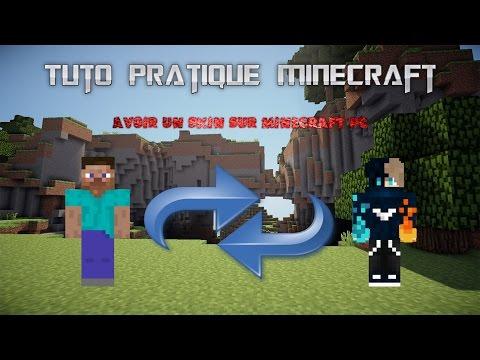 Avoir un skin sur Minecraft version PC