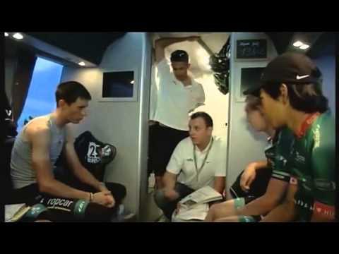 Tour de France 2012 avec l'équipe Europcar