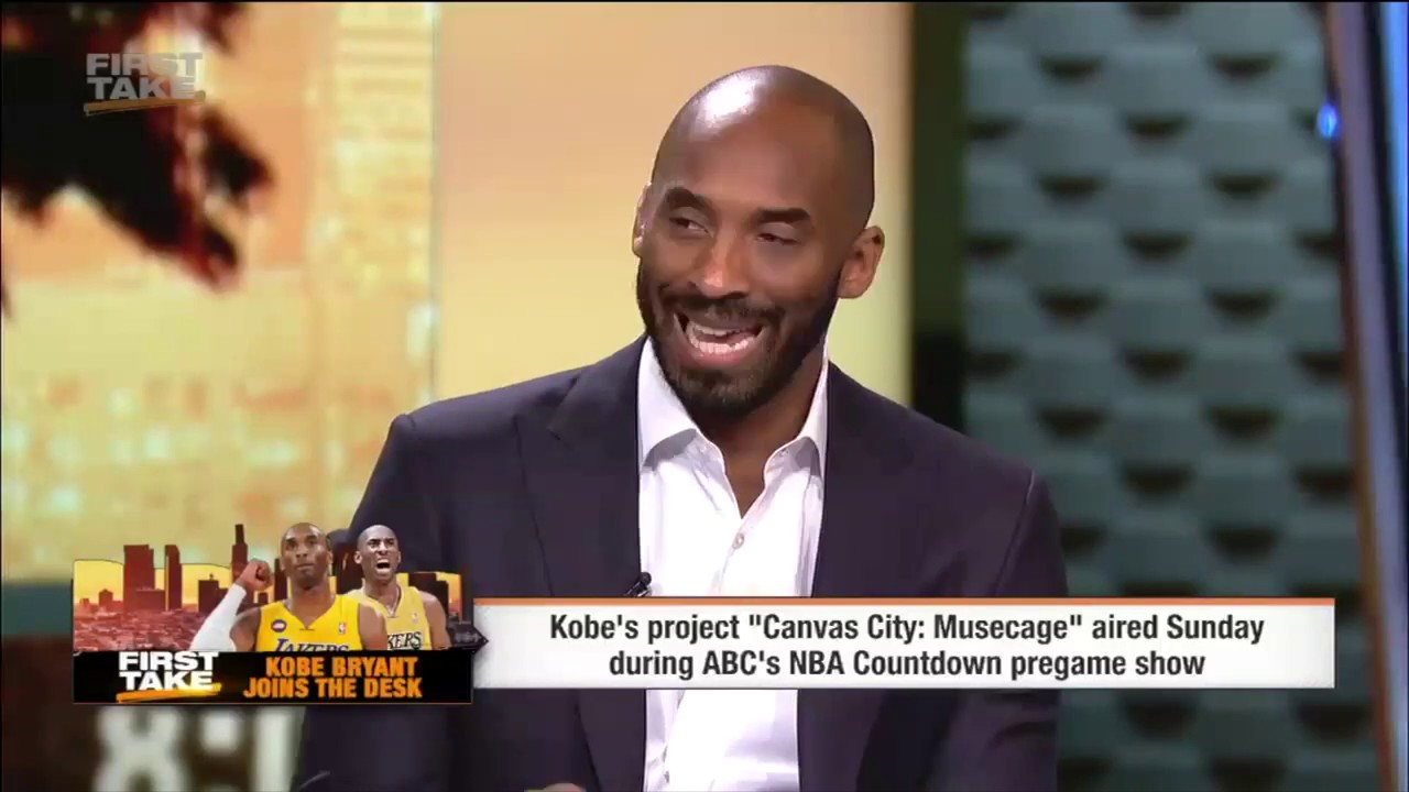 Find Your Passion - Kobe Bryant First Take Interview