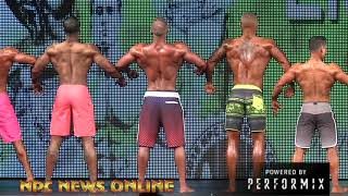 Men's Physique Overall 2018 NPC Southern States Championship
