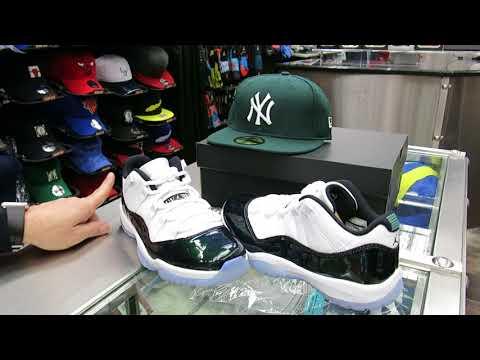 Nike Air Jordan 11 Low - Emerald Easter, at Street Gear, Hempstead NY