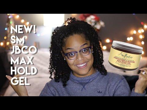 NEW SHEA MOISTURE JBCO MAX HOLD GEL Demo + Review | Danielle Renée