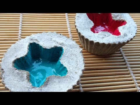 How To Make Cute Home Decoration With Cement - DIY DIY Tutorial - Guidecentral