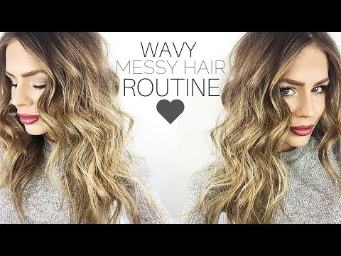My Messy Waves Hair Routine + DEMO