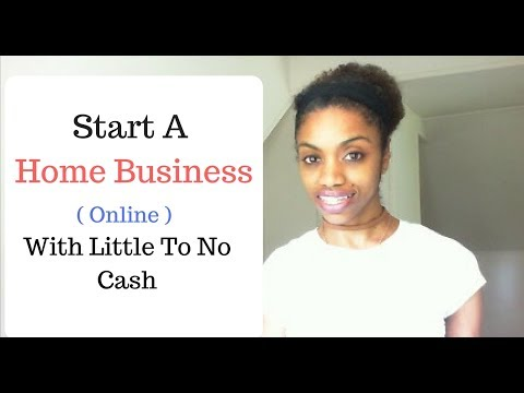 How To Start An Online Business With Little To No Cash.