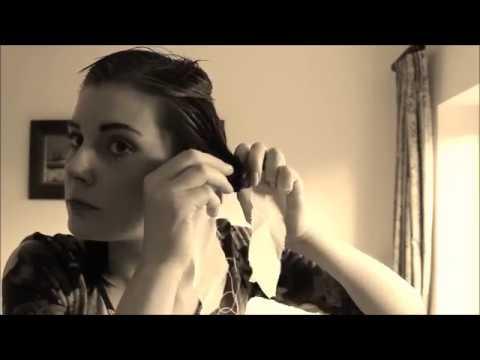 Rag Curls for Vintage Hairstyles | Lovebirds Vintage