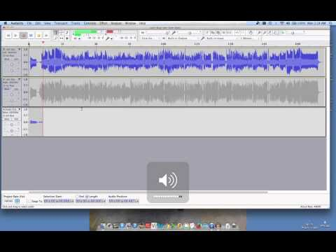 Creating an eval track in audacity