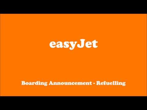 easyJet - Automated Announcements (incl. Emergency)