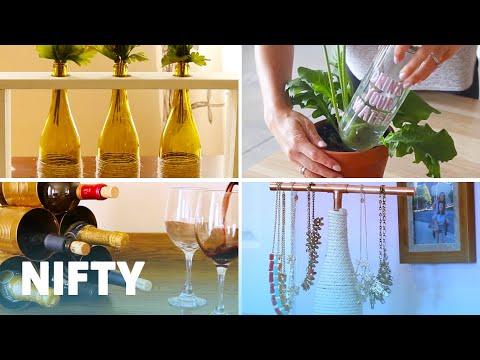 9 Crafts For Wine Bottles