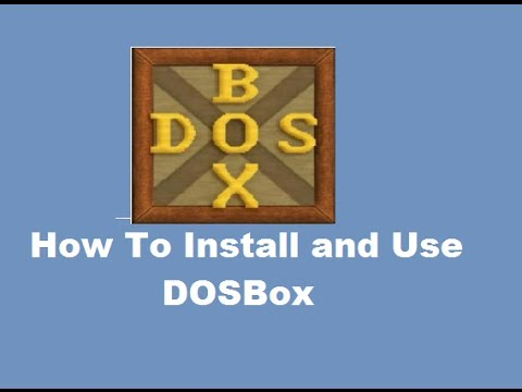How To Install and Use DOSBox (To Run DOS Programs on Windows)
