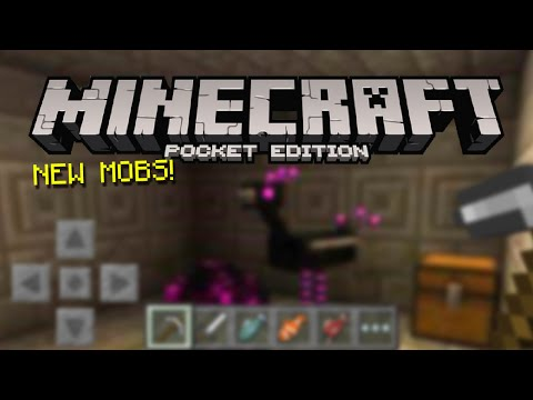 SECRET MOB in Minecraft PE?! (New Mobs, Spawn Eggs, Mob Heads, & More!)