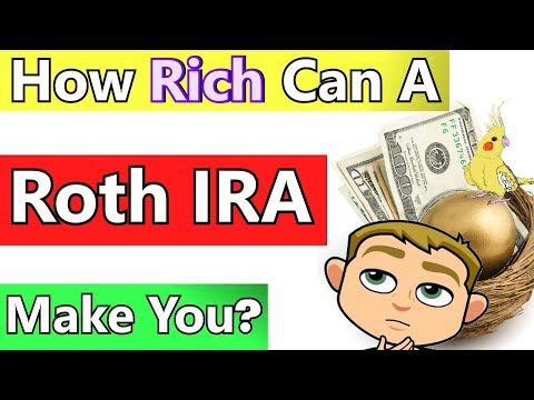 Roth IRA Tax Free Retirement Income Analysis: How Rich Can A Roth IRA Make You? (Realistic Examples)