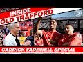 Manchester United 1 0 Watford Inside OT Tunnel Cam Carricks Farewell BTS Lap Of Honour