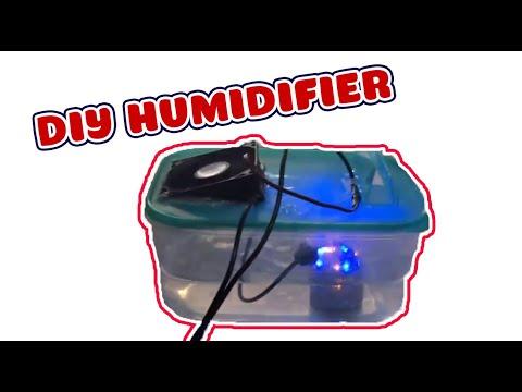 DIY humidifier fogger, Mist generator