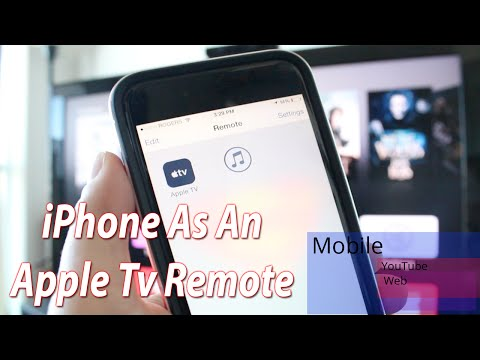 How To Use Your iPhone As An Apple TV Remote iOS 8