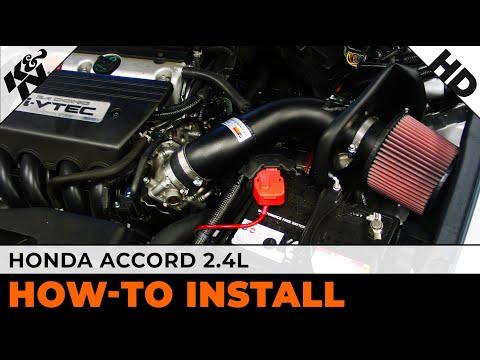 2008-2012 Honda Accord 2.4L Air Intake Installation