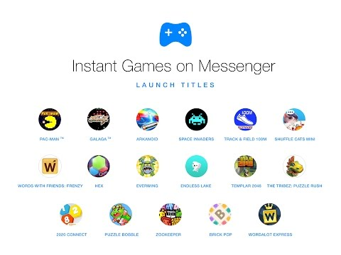 Instant Games on Facebook Messenger 2016. II Countries which will get first II