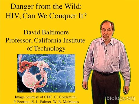 David Baltimore (Caltech) Part 1: Introduction to Viruses and HIV