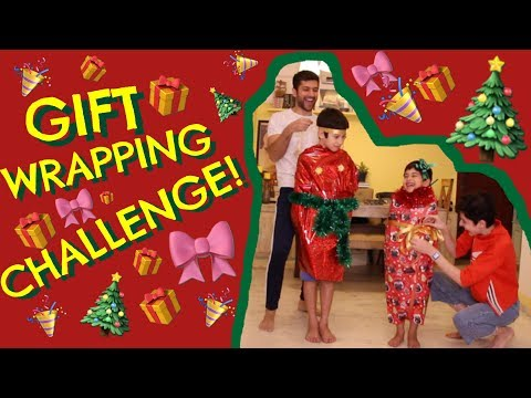The Gift Wrapping Challenge! 🎁