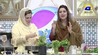 Geo Ramzan Iftar Transmission - Dhokla and Doodh Dulari Recipe by Naheed Ansari - Ehsaas Ramzan