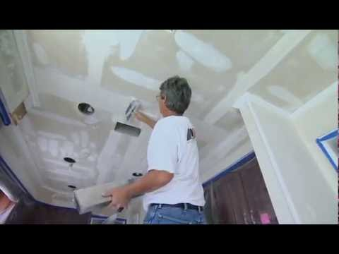 How to Remove Textured Popcorn Ceiling