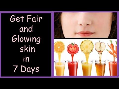 7 Fruit Juices For Skin Whitening And Lightening, 7 Days Skin Whitening Diet,Get Fair Skin in 1 WEEK