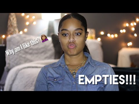 EMPTIES!! | FEB 2018 | Danielle Renée