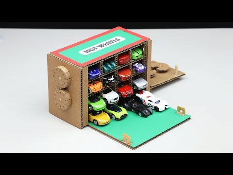 Wow! Amazing Hot Wheels Safe Lock DIY from Cardboard