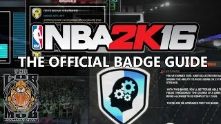 NBA 2K16 - Must Have Badges For your PG - Vidly xyz