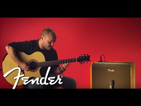 Andy McKee Demos the Acoustic Pro Amp   Fender