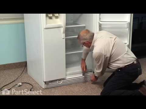 Refrigerator Repair - Replacing the Evaporator Drain Pan (Whirlpool Part # W10614158)