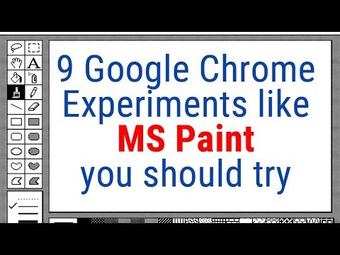 9 Google Chrome Experiments like MS Paint you should try