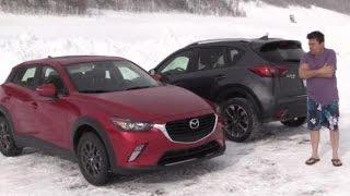 Mazda Ice Academy i-ACTIV AWD Test Video *BONUS* Miata Snow Drifting